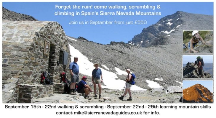Walking and Scrambling in Spain's Sierra Nevada Mountains