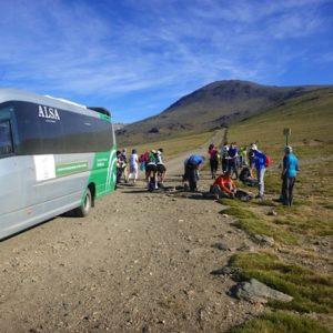 Climb Mulhacen using the bus
