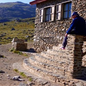 Climb Mulhacen staying at refugio Poqueira