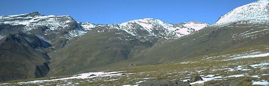 Poqueira gorge Sierra Nevada Mountains
