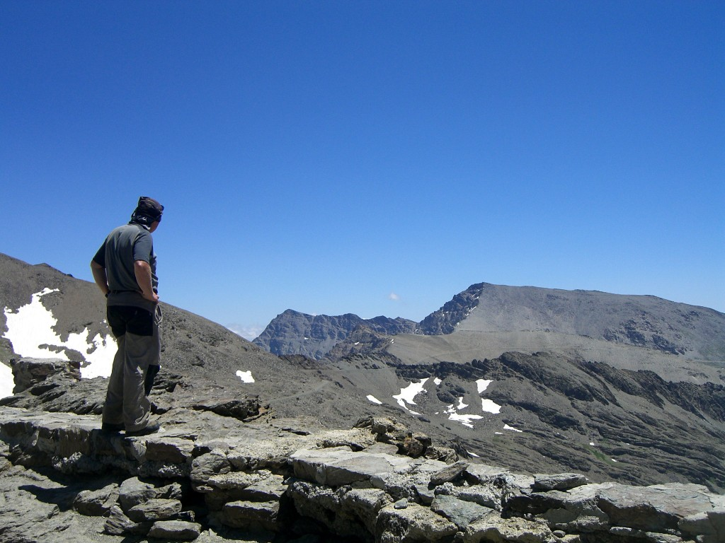 Walking in the Sierra Nevada Mountains