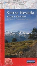 Mapa Sierra Nevada Editorial Penibetica