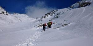 Winter skills in the Sierra Nevada