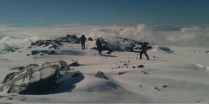 Snowshoe below Mulhacen